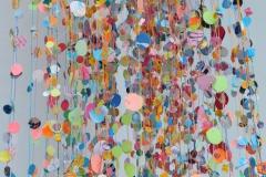 konfettiwolke. detail